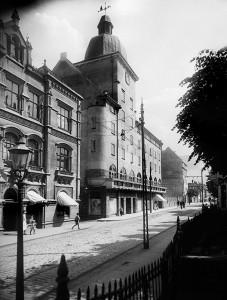 Parti fra Nygaardsgaten_Nygaardsgaten 4_Atelier KK ca 1920