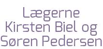 Lægerne Kirsten Biel & Søren Pedersen