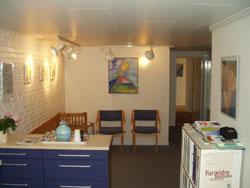 Lægehuset Trørød Venteværelse